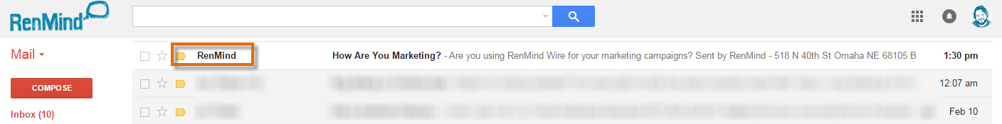 Email Marketing With RenMind Wire
